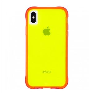 Case-Mate Tough Neon phone case for iPhone XS Max